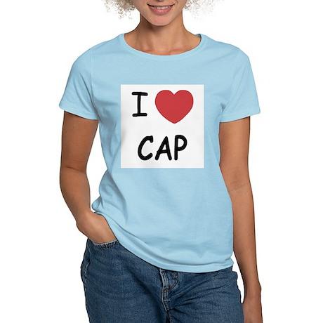 I heart cap Women's Light T-Shirt