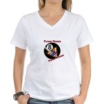 Personalized Women's V-Neck T-Shirt