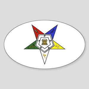 O. E. S. Emblem Sticker (Oval)