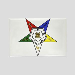O. E. S. Emblem Rectangle Magnet