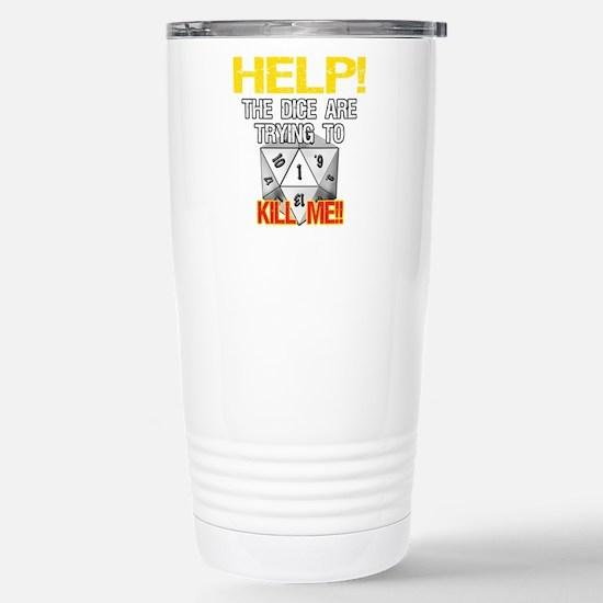 Killer Dice Stainless Steel Travel Mug
