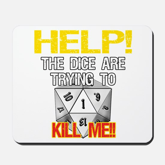 Killer Dice Mousepad