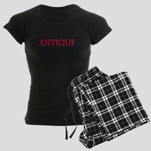 Antique Women's Dark Pajamas