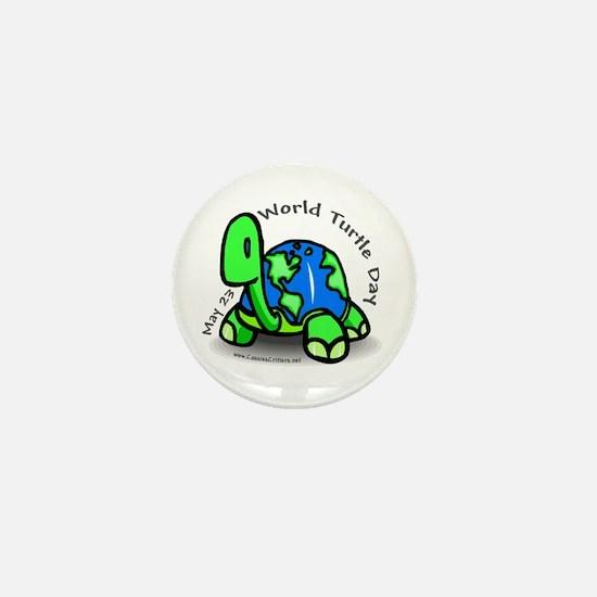World Turtle Day Mini Button