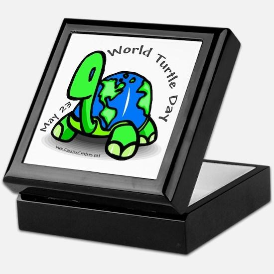 World Turtle Day Keepsake Box