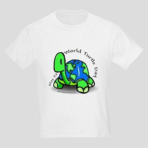 World Turtle Day Kids Light T-Shirt