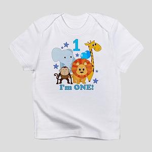 First Birthday Jungle Infant T-Shirt