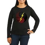 Horde Cookie Women's Long Sleeve Dark T-Shirt