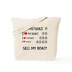 I love my Boat Tote Bag