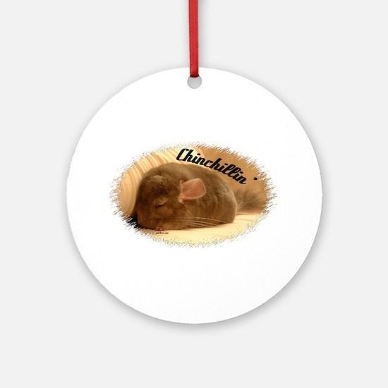 Chinchillin! Ornament (Round)