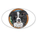 Tam's Oval Sticker