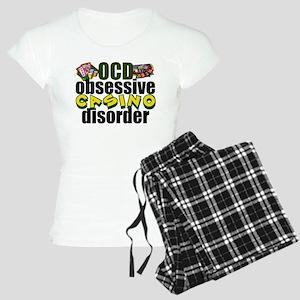 Funny Casino Women's Light Pajamas