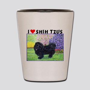 Shih Tzu Shot Glass