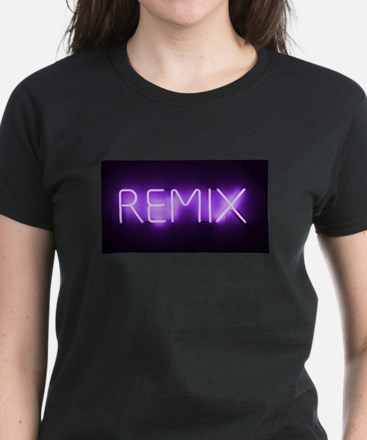 Remix Sign Women's Dark T-Shirt