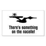 Something on the Nacelle! Sticker (Rectangle 10 pk