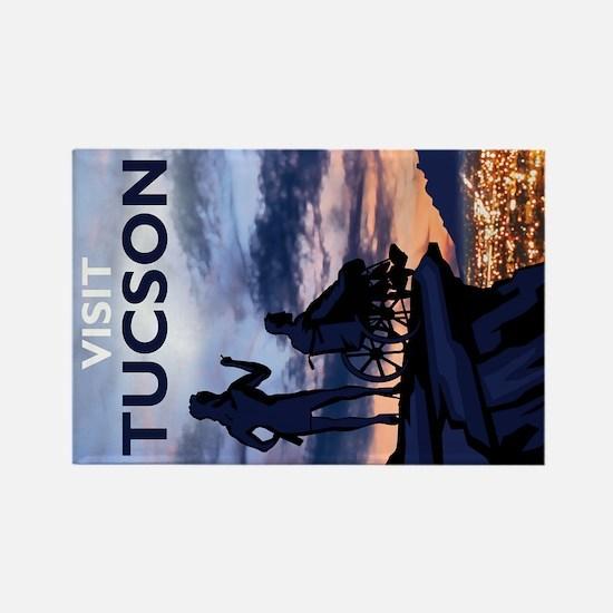 Visit Tucson rectangle magnet