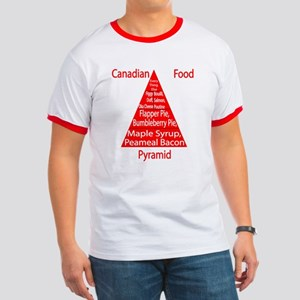 Canadian Food Pyramid Ringer T