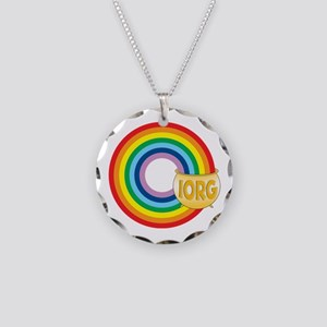 IORG Pot of Gold Necklace Circle Charm
