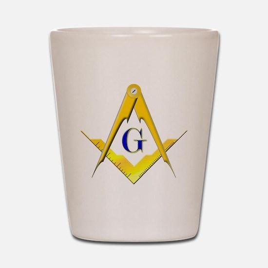 Masonic Shot Glass