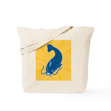 Catfish fish Tote Bag