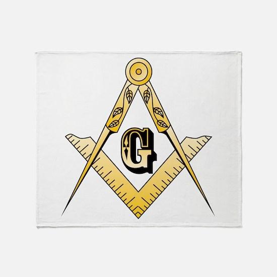Masonic Throw Blanket