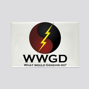WWGD Rectangle Magnet