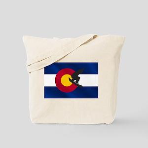 Colorado Snowboarding Tote Bag