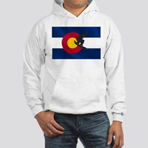 Colorado Snowboarding Hooded Sweatshirt