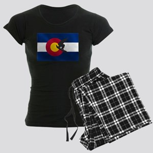 Colorado Snowboarding Women's Dark Pajamas