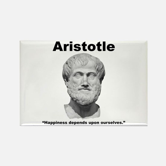 Aristotle Happiness Rectangle Magnet (10 pack)