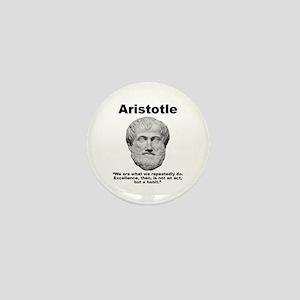 Aristotle Excellence Mini Button