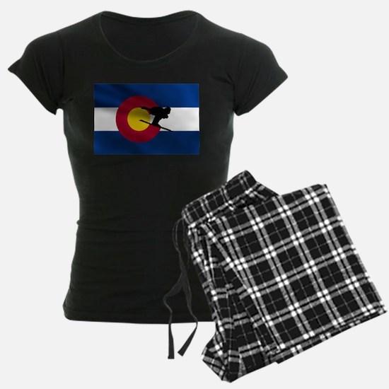 Colorado Skiing Pajamas