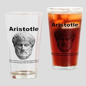Aristotle Dignity Pint Glass