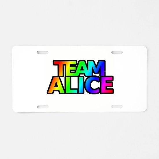 Cute Twighlight Aluminum License Plate