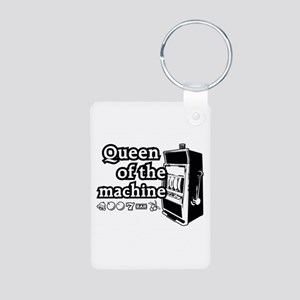 Queen of the machine Aluminum Photo Keychain