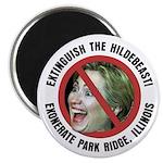 Anti-Hillary Park Ridge Magnet