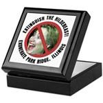 Anti-Hillary Park Ridge Keepsake Box