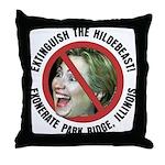 Anti-Hillary Park Ridge Throw Pillow