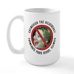 Anti-Hillary Park Ridge Large Mug