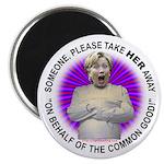 Take Hillary Away Magnet