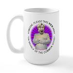Take Hillary Away Large Mug