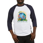 Earth For Life Baseball Jersey