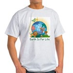 Earth For Life Ash Grey T-Shirt