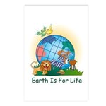 Earth For Life Postcards (Package of 8)