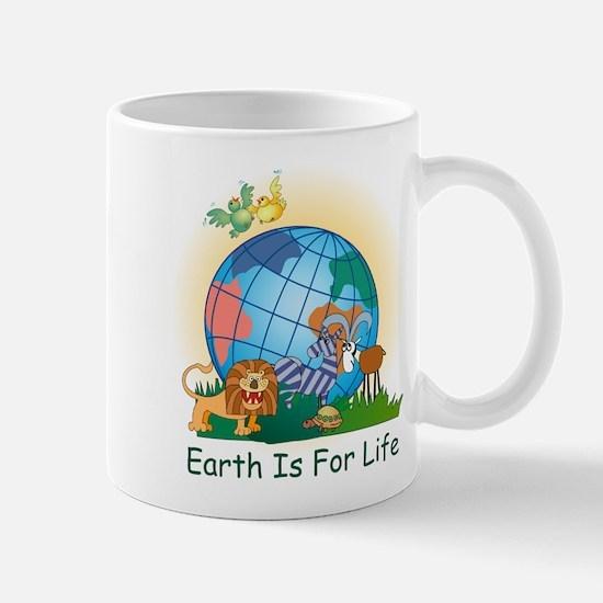Earth For Life Mug