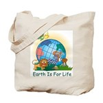 Earth For Life Tote Bag