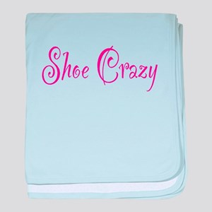 Shoe Crazy baby blanket