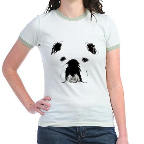 Bulldog Bacchanalia Jr. Ringer T-Shirt