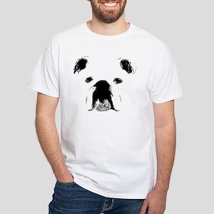 Bulldog Bacchanalia White T-Shirt