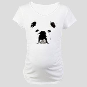Bulldog Bacchanalia Maternity T-Shirt
